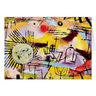 Klee - Rising Sun Card