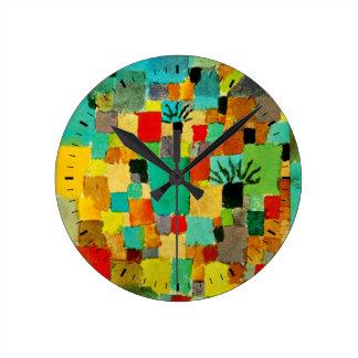 Klee - Southern (Tunisian) Garden Round Clock