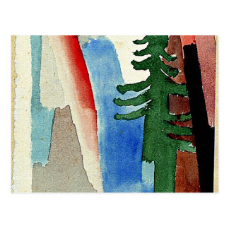 Klee: The Fir Postcard