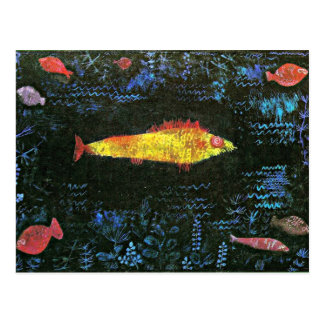 Klee: The Goldfish Postcard