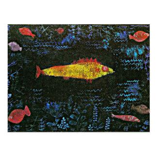 Klee - The Goldfish Postcard