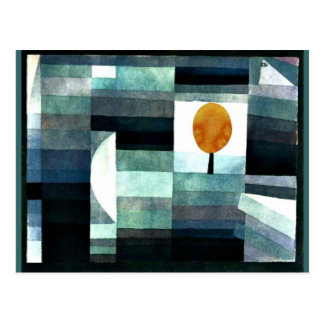 Klee: The Messenger of Autumn Postcard