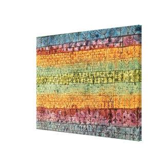Klee - Tree Nursery Canvas Print