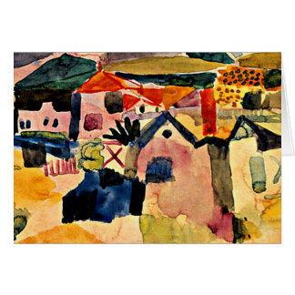 Klee - View of Saint Germain Card