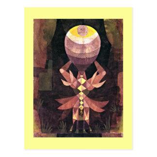 Klee - Wild Berry, Paul Klee painting Postcard