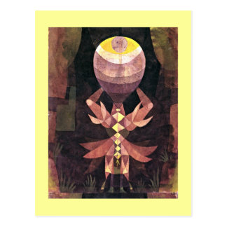 Klee - Wild Berry Paul Klee painting Post Cards