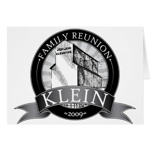 Klein Reunion Greeting Card
