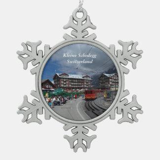 Kleine Schedegg Snowflake Ornament 1