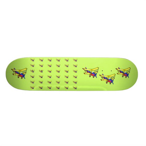 Kleines Flugzeug Skateboards