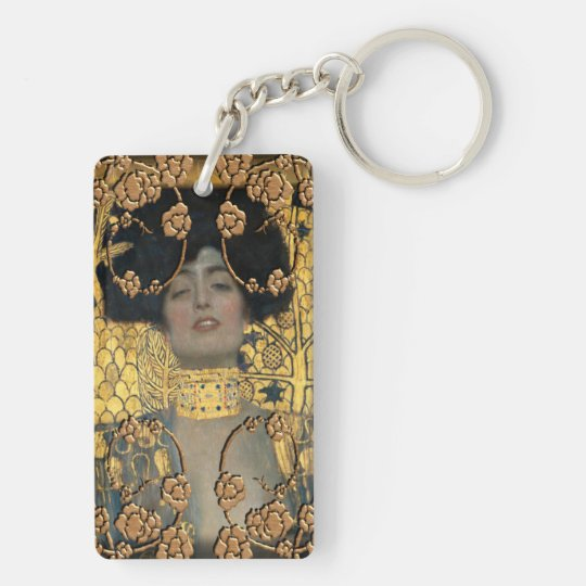 Klimt Acrylic Keychain
