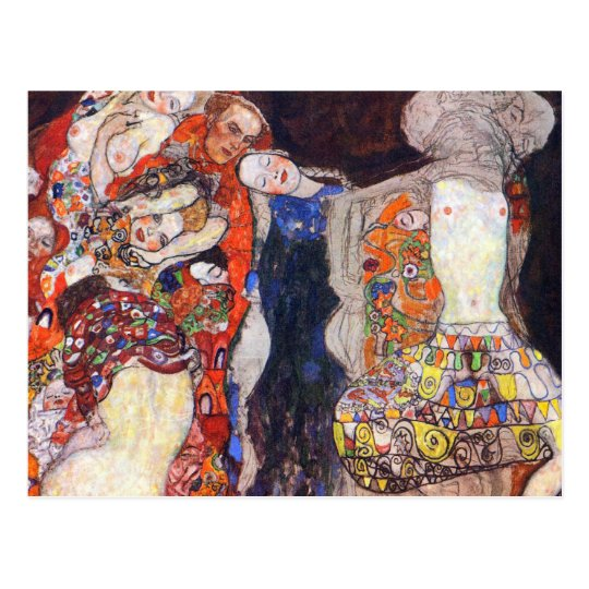 Klimt Adorn the bride with veil and wreath
