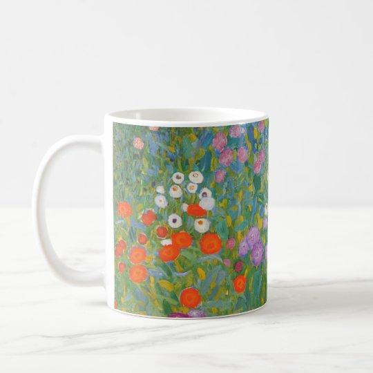 Klimt Flower Garden Painting I Nouveau Coffee Mug