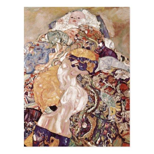 Klimt, Gustav Baby Baby(Cradle) Espa?ol: Beb?(Cuna Postcard