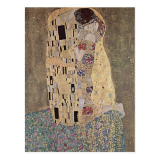 Klimt, Gustav Catal?: El pet? Der Ku? The Kiss Esp Postcard