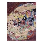 Klimt, Gustav Catal?: Les verges Die Jungfrau The  Postcard