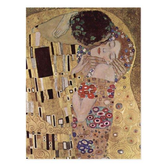 Klimt, Gustav Der Ku?, Detail Magyar: A cs?k
