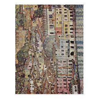 Klimt, Gustav Malcesine am Gardasee Italiano: Malc Postcard