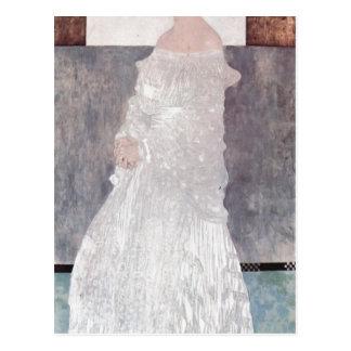 Klimt, Gustav Portr?t der Margaret Stonborough-Wit Postcard