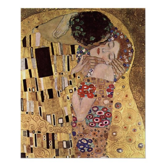 Klimt Gustav ~ The Kiss Poster