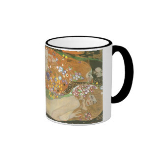 Klimt, Gustav: Wasserschlangen (Freundinnen) II Ringer Mug