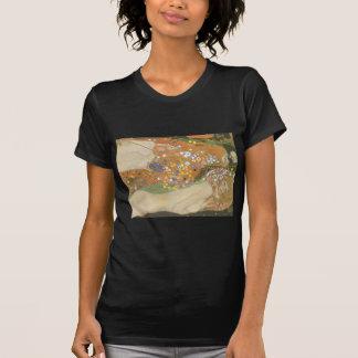 Klimt, Gustav: Wasserschlangen (Freundinnen) II T-Shirt