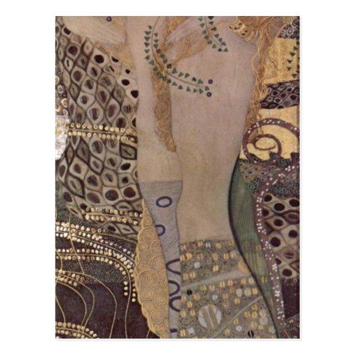 Klimt, Gustav Wasserschlangen I (Freundinnen I) Th Postcards