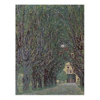 Klimt, Gustav Weg im Park von Schlo? Kammer 1912 T Postcards