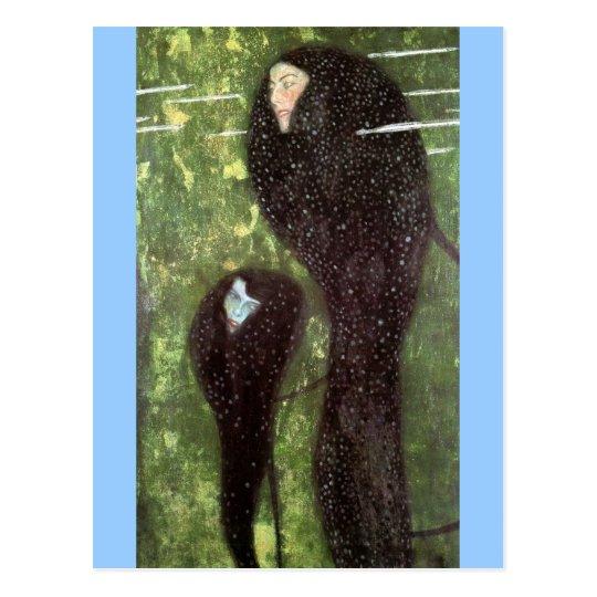 Klimt ~ Mermaids Postcard