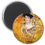 Klimt Portrait of Adele Bloch-Bauer I Magnet