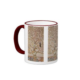 Klimt -  Stocletfries Ringer Mug