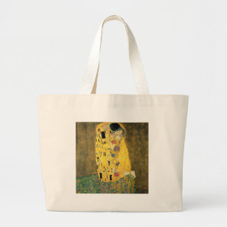 Klimt - The Kiss Large Tote Bag