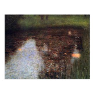 Klimt - The Swamp Postcard