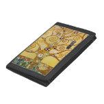 Klimt, Tree of Life Tri-fold Wallet