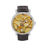Klimt, Tree of Life Wristwatches