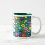 Klimt tribute tree of life mug