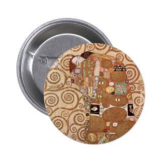 Klimt - Werkvorlagen zum Stocletfries 6 Cm Round Badge