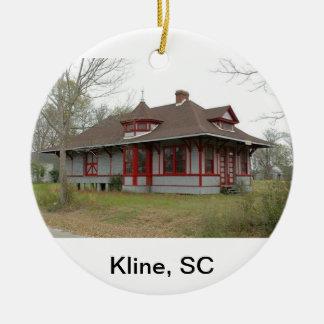 Kline Depot Christmas Ornament