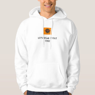 KLIQUE, LET'S WEAR IT OUT1982 HOODIE