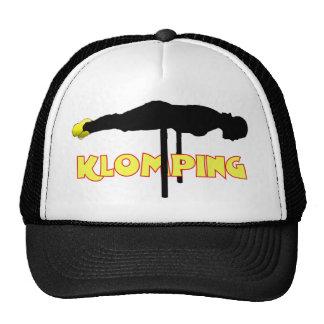 Klomping silhouette cap