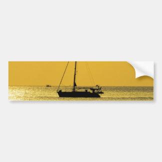 Klong Dao Beach Koh Lanta sunset Bumper Sticker