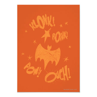KLONK POW Bat Symbol Graphic Card