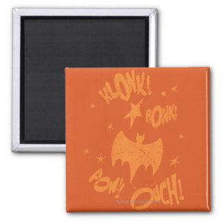 KLONK POW Bat Symbol Graphic Magnet