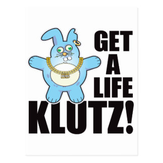 Klutz Bad Bun Life Postcard