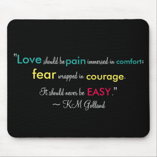 KM Golland Revue Quote Mousepad