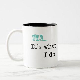 KM Golland Tea It's What I Do Mug