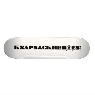 KNAPSACKHEROES! White Skateboard