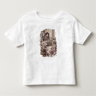 Knave before the King and Queen of Hearts Toddler T-Shirt