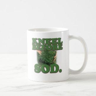 Kneel Before Sod Basic White Mug