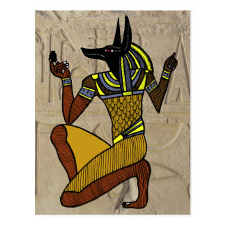 Kneeling Anubis Postcards