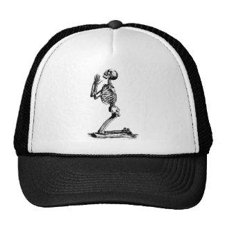 Kneeling Skeleton Hat